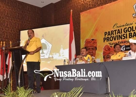 Nusabali.com - golkar-ancam-coret-kader-malas