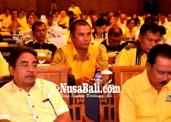 Nusabali.com - golkar-badung-pertama-tuntaskan-pencalegan