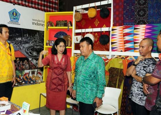 Nusabali.com - jaring-wisatawan-domestik-pemkot-denpasar-ikuti-pameran-gebyar-pariwisata