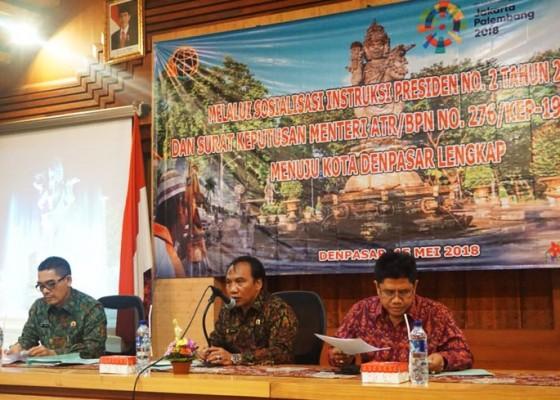 Nusabali.com - sosialisasi-prona-percepatan-pendaftaran-tanah-sistematis-lengkap