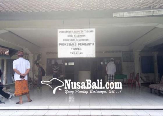 Nusabali.com - ruang-layanan-pustu-timpag-kerap-kebanjiran