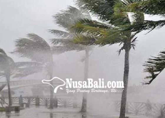 Nusabali.com - bbmkg-warning-adanya-angin-kencang-dan-gelombang-tinggi