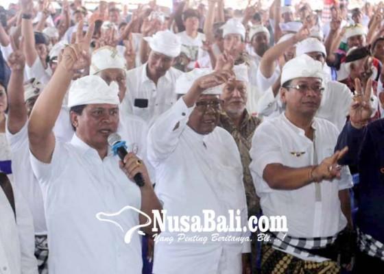 Nusabali.com - gebrak-subagan-sudikerta-janjikan-rp-500-jutadesa