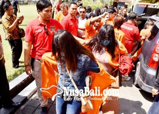Nusabali.com - ungkap-129-kasus-tangkap-275-orang