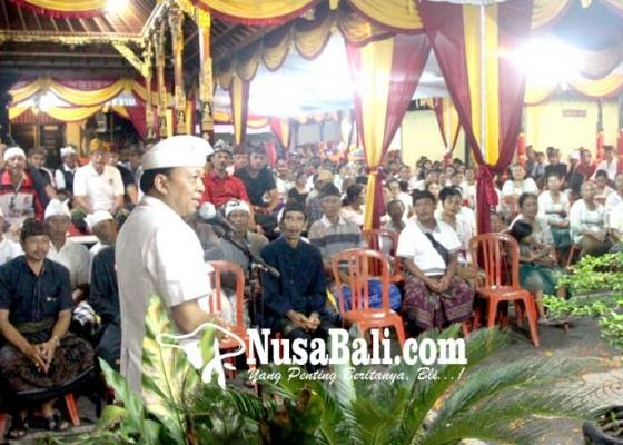 Nusabali.com - pesemetonan-dalem-blambangan-bali-dan-puri-agung-bunutin-bulat-dukung-koster-ace