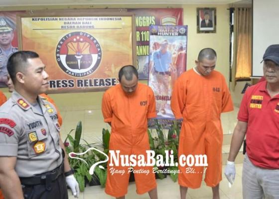 Nusabali.com - edarkan-shabu-pns-kelurahan-dibekuk