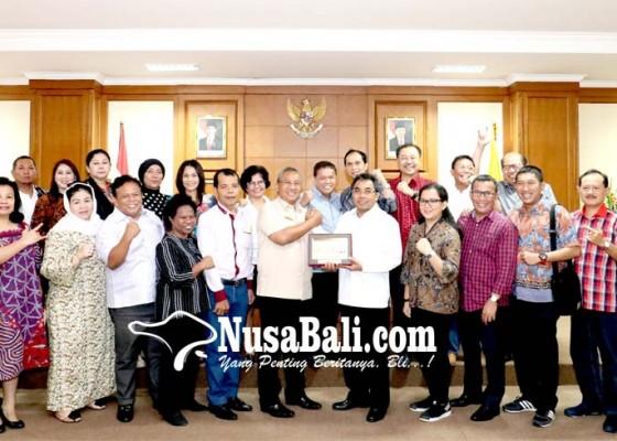 Nusabali.com - dprd-dki-jakarta-berkunjung-ke-dprd-badung