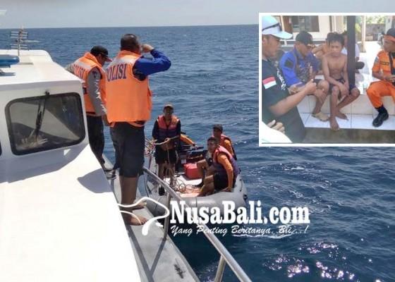 Nusabali.com - semalam-mengapung-di-laut-nelayan-cilik-selamat