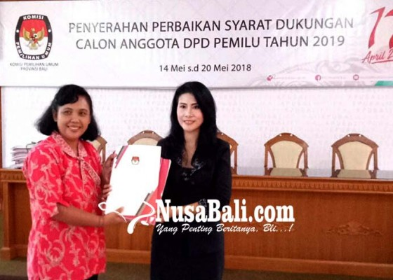Nusabali.com - dua-srikandi-setor-perbaikan-syarat-dukungan