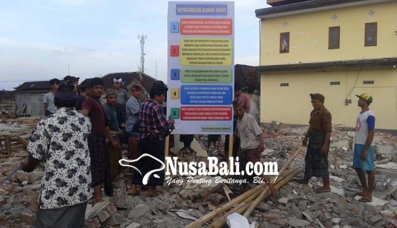 www.nusabali.com-pasar-keramas-dipasangi-spanduk