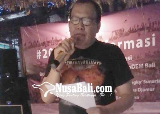 Nusabali.com - 20-tahun-reformasi-aktivis-di-bali-deklarasikan-prodem
