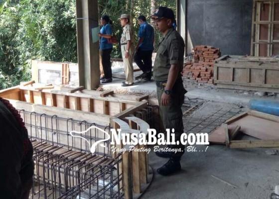 Nusabali.com - langgar-imb-proyek-hotel-disidak