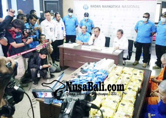 Nusabali.com - bnn-sita-379-kg-sabu-dan-9900-ekstasi