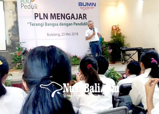 Nusabali.com - pln-mengajar-sumbang-20-komputer-di-sman-1-singaraja