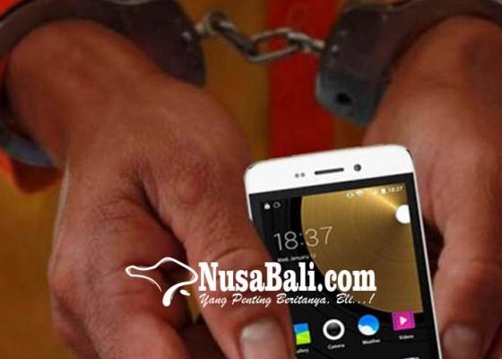 Nusabali.com - curi-hp-pengangguran-dibekuk