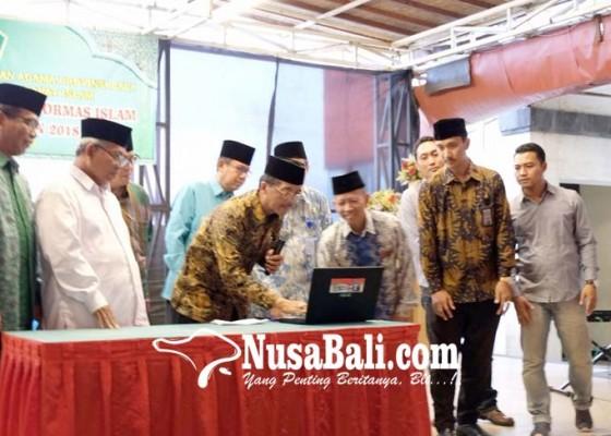 Nusabali.com - kanwil-kemenag-provinsi-bali-launching-video-tebarkan-kedamaian