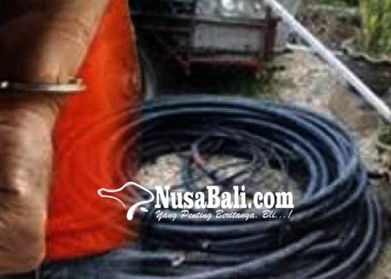Nusabali.com - pencuri-5-ton-kabel-bawah-laut-ditangkap