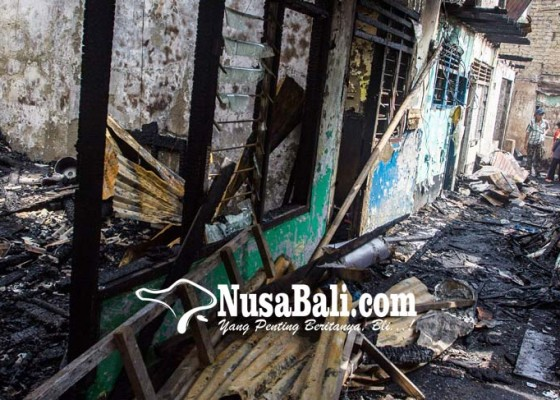 Nusabali.com - 40-rumah-terbakar-220-warga-mengungsi