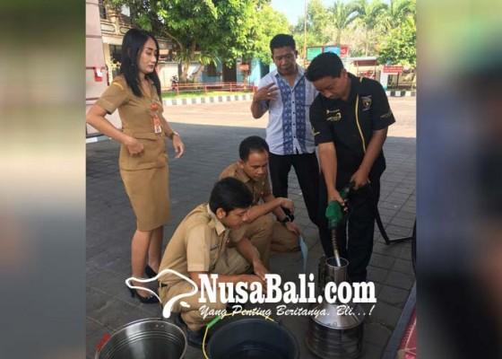Nusabali.com - dinas-koperindag-jembrana-sidak-spbu