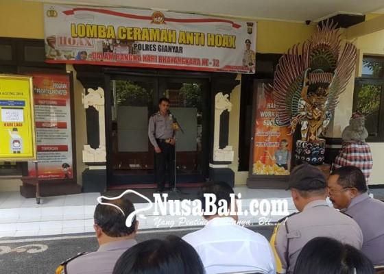 Nusabali.com - perangi-hoax-polisi-gelar-lomba-pidato
