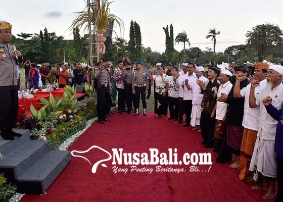 Nusabali.com - kapolda-pimpin-doa-bersama-lintas-agama