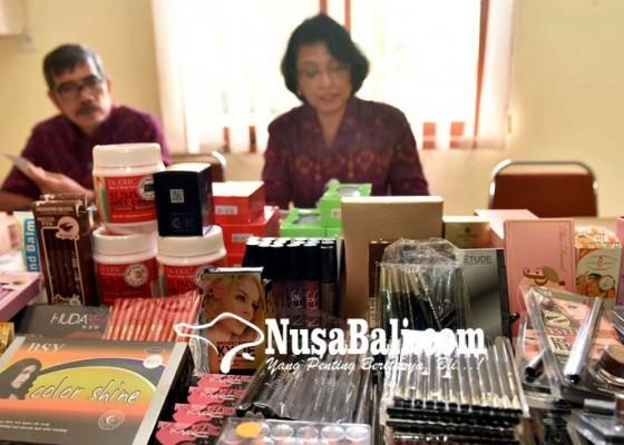 Nusabali.com - temuan-kosmetik-didominasi-produk-china