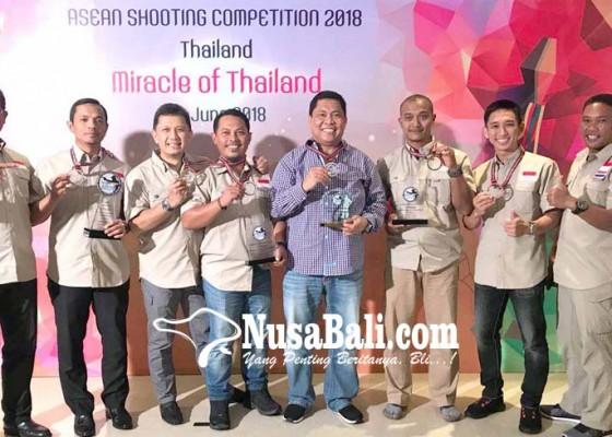 Nusabali.com - wakili-indonesia-tim-kapolda-bali-juara-umum-lomba-tembak-asean