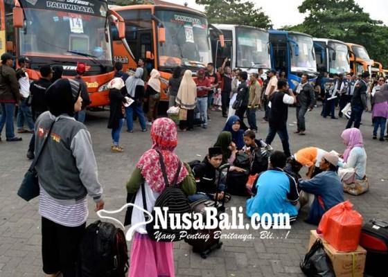Nusabali.com - 800-orang-ikuti-mudik-gratis-bersama-ikawangi-dewata