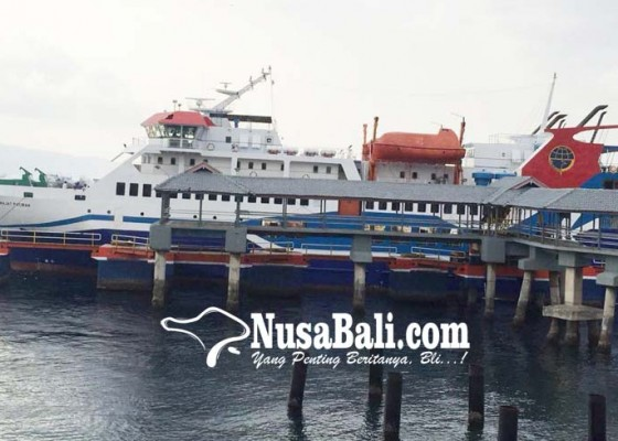 Nusabali.com - kmp-drajat-paciran-diujicoba-di-gilimanuk