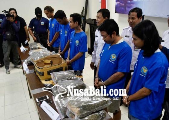 Nusabali.com - sindikat-pengedar-1226-kg-ganja-kering-diciduk-bnnp