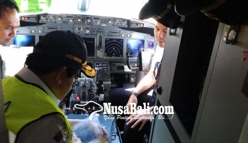 www.nusabali.com-kemenhub-pantau-ramp-check-pesawat