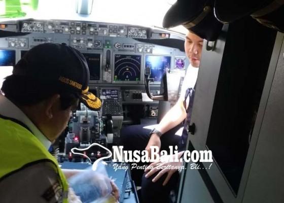 Nusabali.com - kemenhub-pantau-ramp-check-pesawat