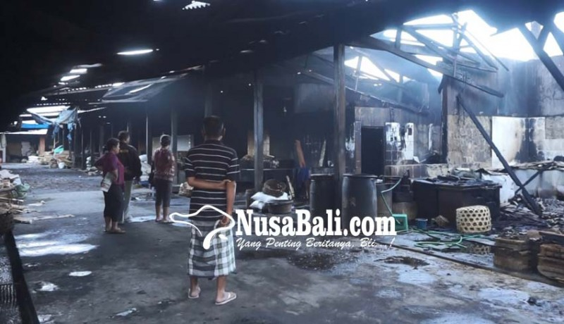 www.nusabali.com-pemindangan-di-kusamba-terbakar