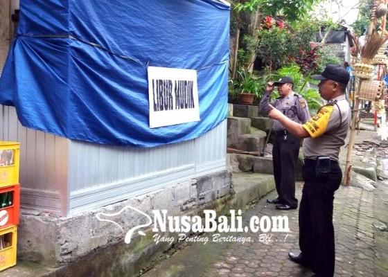 Nusabali.com - polisi-pantau-rumah-pemudik