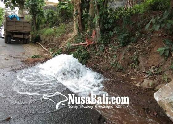 Nusabali.com - pipa-pdam-bocor-pelanggan-kota-terganggu