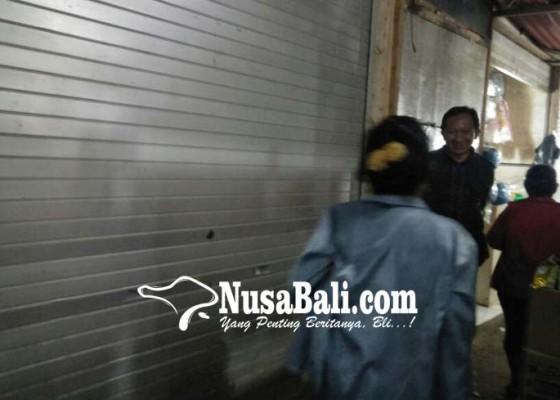 Nusabali.com - pendapatan-restribusi-pasar-menurun