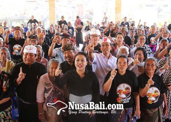 Nusabali.com - eka-wiryastuti-kawal-cok-ace-di-nusa-penida