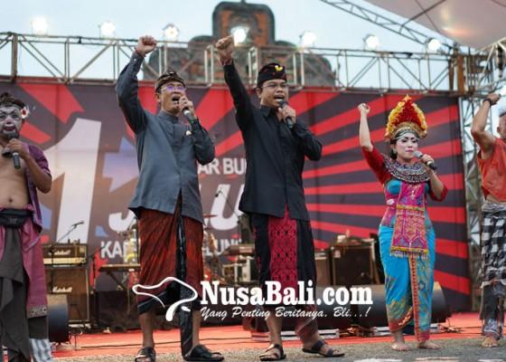 Nusabali.com - bagia-kampanye-akbar-dibalut-gelar-budaya-1-jalur