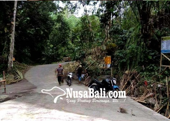 Nusabali.com - jembatan-di-desa-pedawa-tuntas