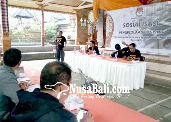 Nusabali.com - kpu-bangli-gelar-apel-kesiapan-pilgub