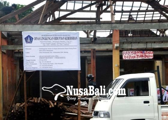 Nusabali.com - dinas-lhk-tata-intersection-depan-patung-dewa-rama