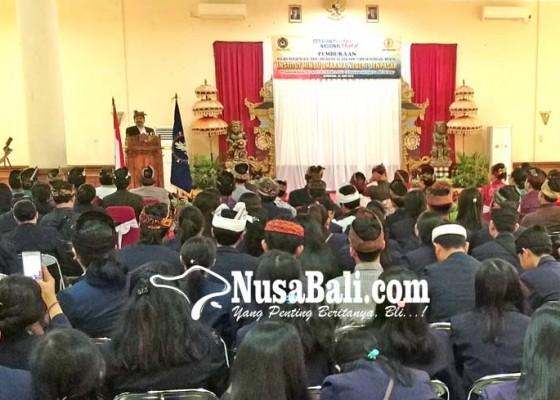 Nusabali.com - 253-mahasiswa-ihdn-denpasar-ikuti-kkn-di-jembrana