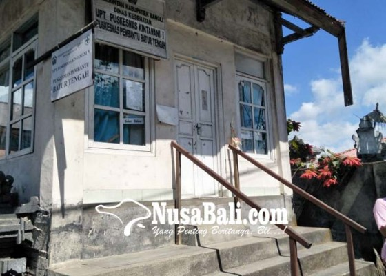 Nusabali.com - pustu-batur-tengah-manfaatkan-posko-pecalang