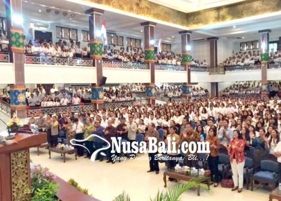 Nusabali.com - kapolda-bali-beri-pembekalan-mahasiswa-kkn-unud