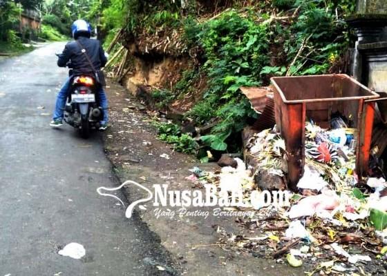 Nusabali.com - bangli-masih-kekurangan-tong-sampah