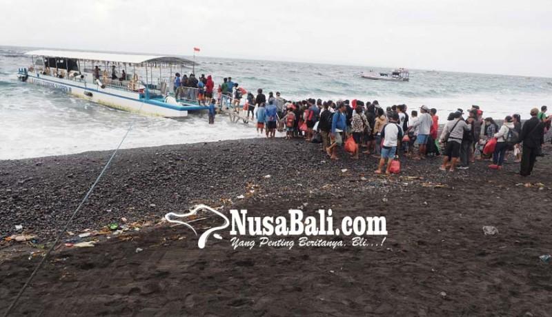 www.nusabali.com-ribuan-warga-nusa-mudik-pagi