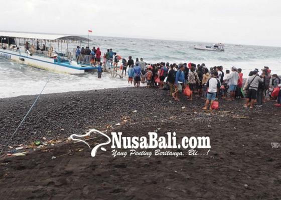 Nusabali.com - ribuan-warga-nusa-mudik-pagi