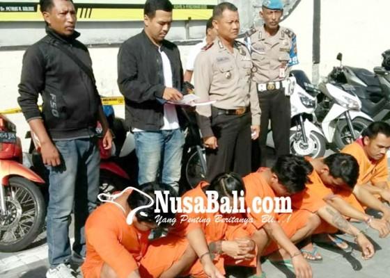 Nusabali.com - curi-motor-tentara-sindikat-curanmor-diringkus