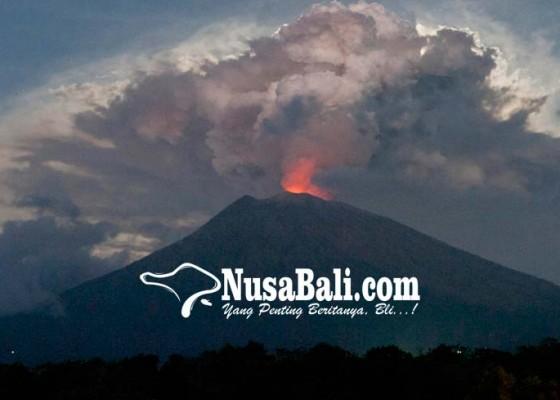 Nusabali.com - paparan-abu-erupsi-terasa-di-buleleng