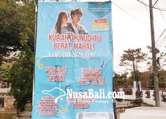 Nusabali.com - bem-buka-suara-kuliah-di-unud-mahal